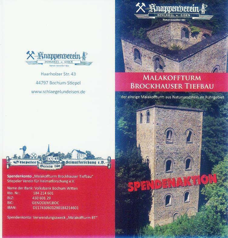 Bergmannsglück-Datteln Malakoffturm