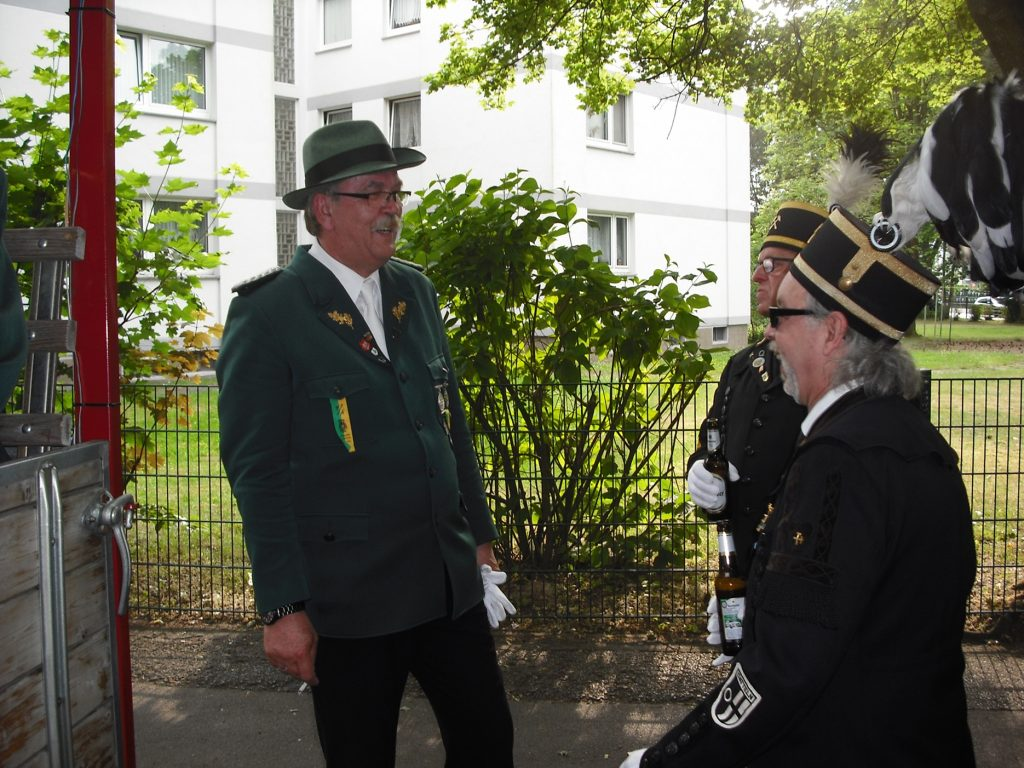 Bergmannsglück-Datteln Schützenfest Hagem.