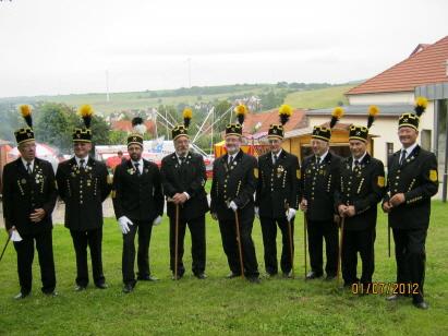 Bergmannsglück-Datteln Unterbreizbach 2012
