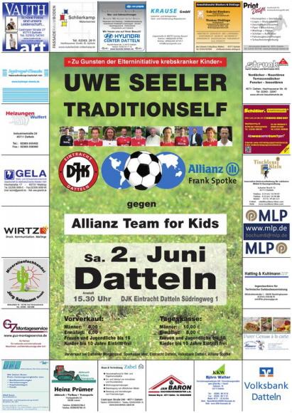 Bergmannsglück-Datteln Uwe Seeler Traditionself