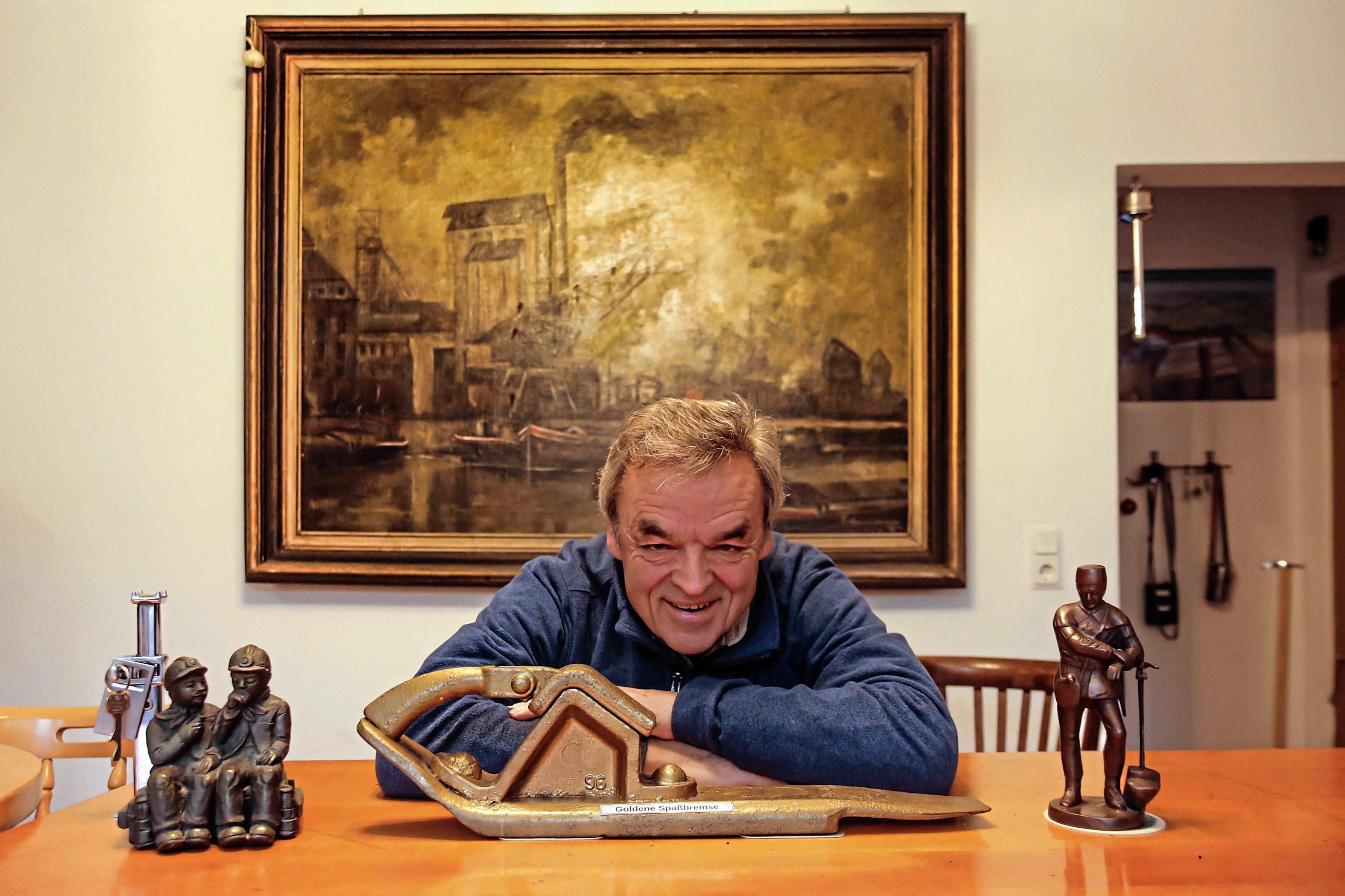 Gustav Scholz (Lothar) Bergmannsglück-Datteln